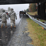 Virginia Guard soldiers patrol for stranded motorists in Fredericksburg [Image 1 of 2]