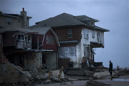 A gated community in New York City was destroyed in the wake of Sandy's wrath. Dozens have been killed and millions left without power along the east coast and other regions of the United States. by Pan-African News Wire File Photos