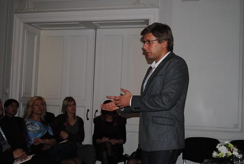 Dinner with Riga Mayor Nils Ushakovs