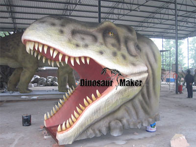 Animatronic Dinosaur Head for Sale in China