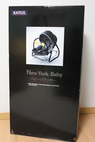 NewYork・Baby ベビーバウンサー(ニューヨークベビー)