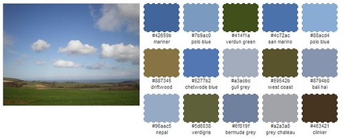 Photo palette clouds
