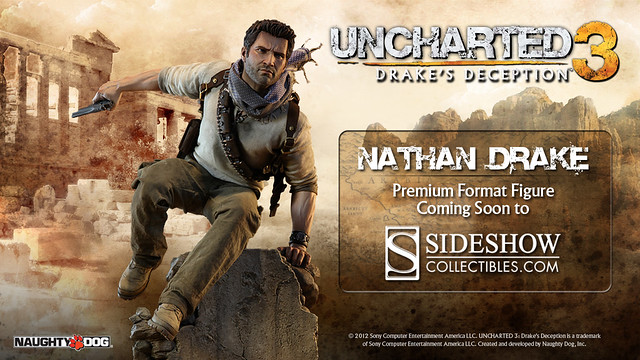 UNCHARTED 3 Drake Figure