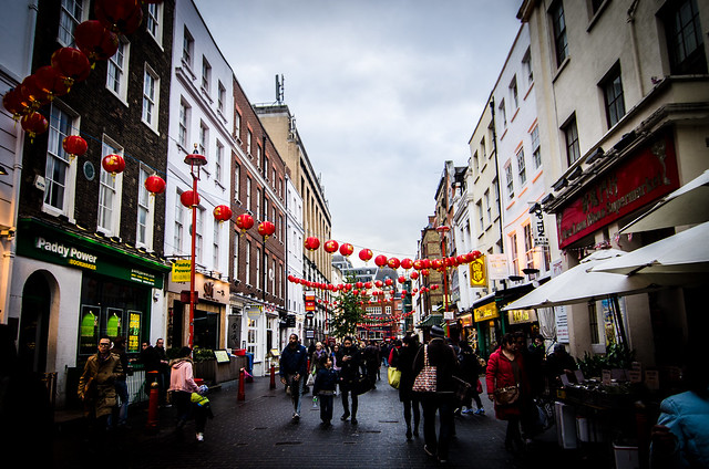 A walk through London's Chinatown.