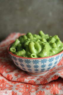 Green Macaroni and Cheese