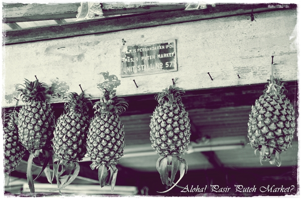 Hanging Pineapples