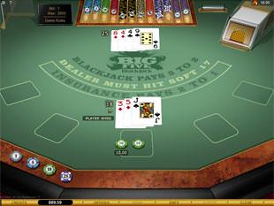 Big 5 Blackjack Gold Series