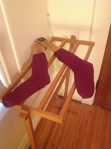 WWFY socks by gradschoolknitter