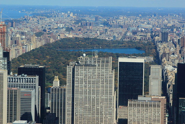 A view of central park from 102nd floor of empire state for 102nd floor of the empire state building