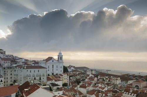 Alfama, Lisbonne, Portugal