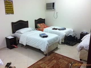 غرفتنا الرباعية بالسكن