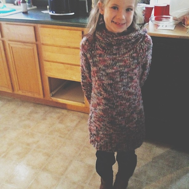 Put a pair of cowboy boots and a slouchy sweater on her and suddenly she's fifteen.  #vscocam