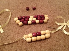 Wooden Bead Bib Necklace - Step 2