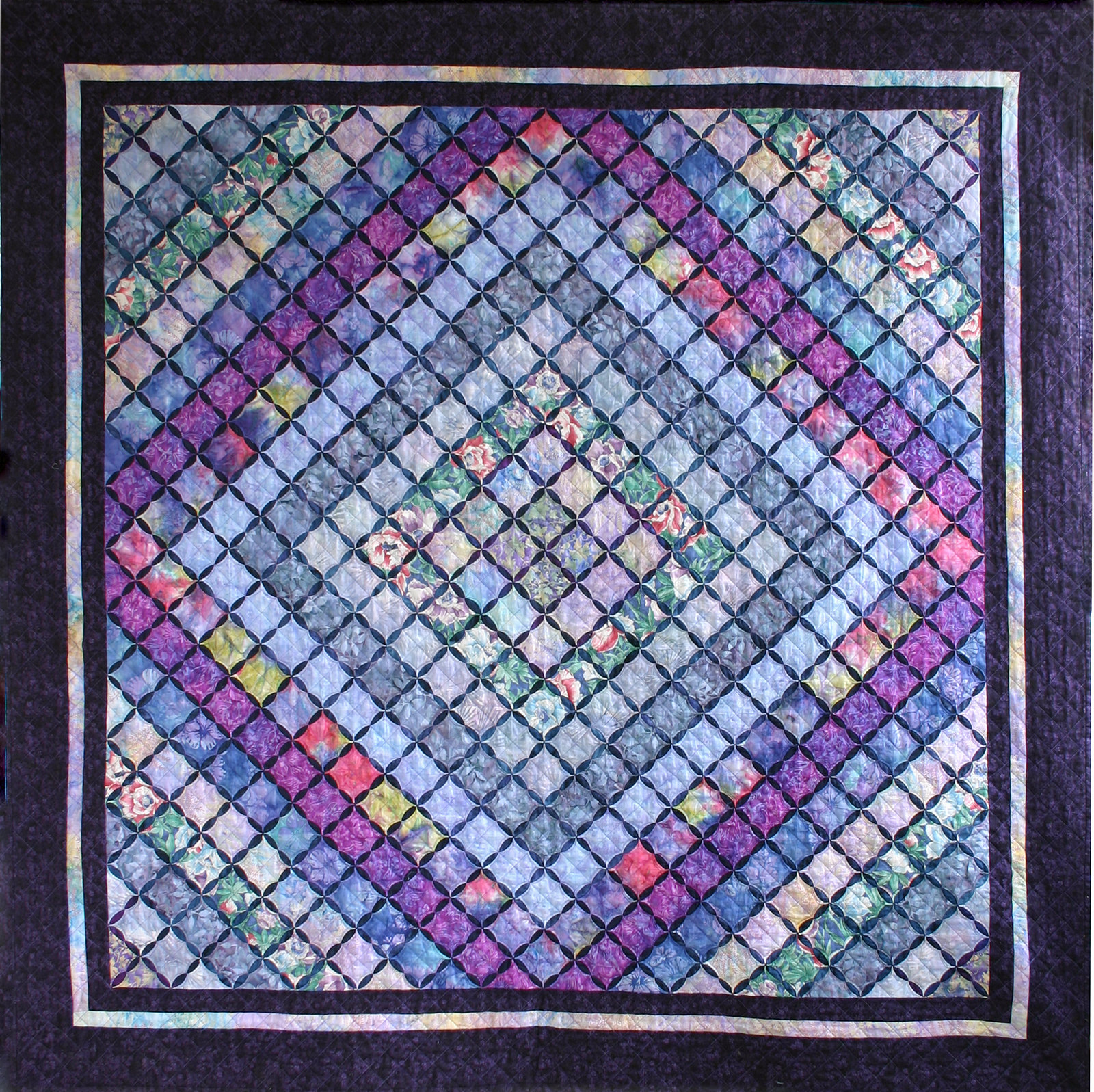 Cathedral Window Quilts Snips And Bits From Shelley S Studio