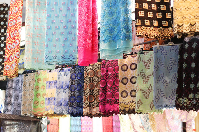african fabrics in Brixton