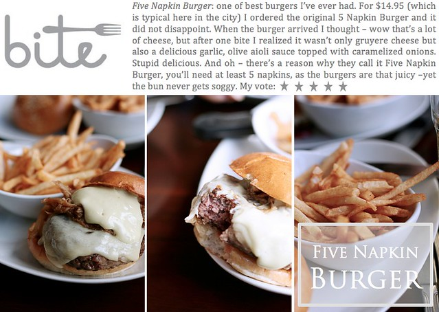 Five Napkin Burger
