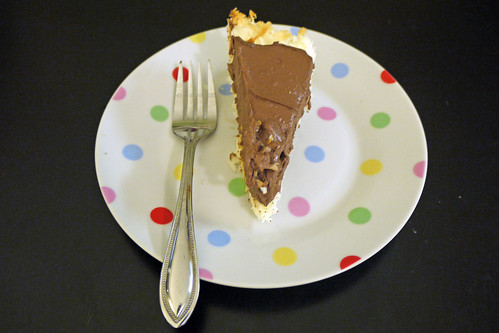 Healthier Chocolate Pie