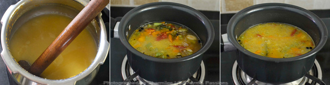 How to make vegetable soup - Step3