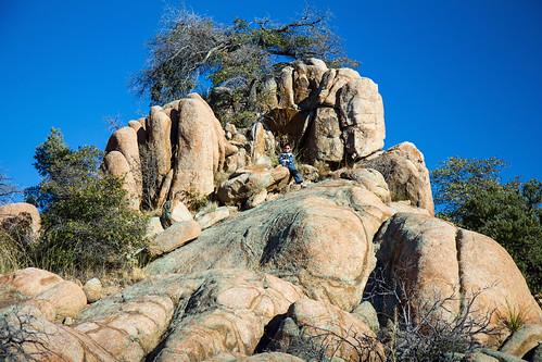 granitedells prescott arizona boy child hike t2i 550d efs1755mmf28isusm circularpolarizer stickneydesign lifelover4 kid kids children youth young happy fun hughstickney