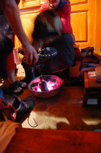 firebucket at Naxi Family Guesthouse