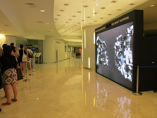 Petronas Motorsports Interactive Wall