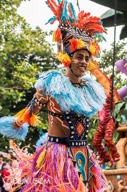Jumpin' Jungle Jam - African dancers