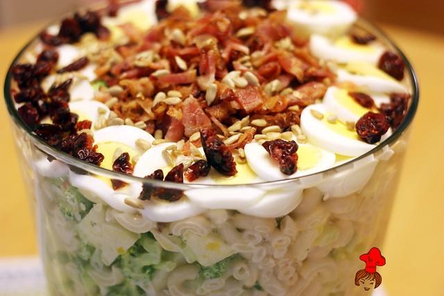 培根義大利麵沙拉 Bacon Spaghetti Salad 1