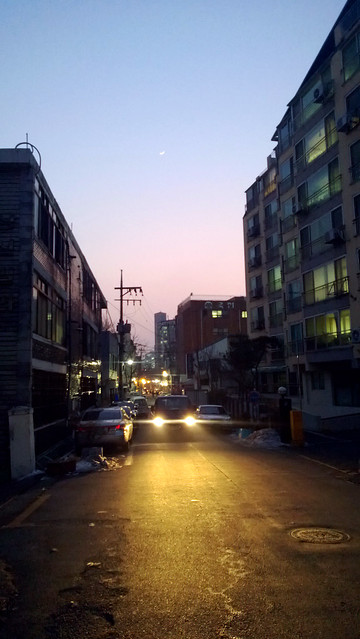 night in seoul