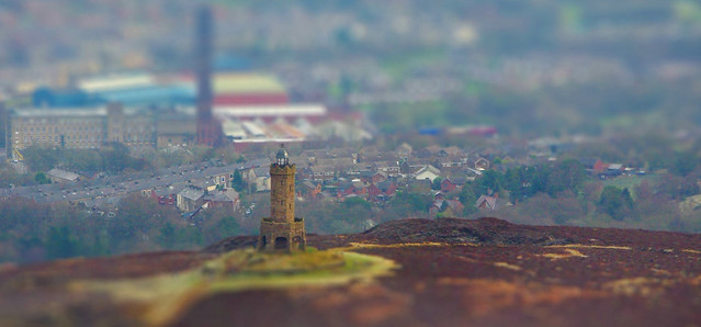 Darwen Tower - Jubilee Tower tiltshift