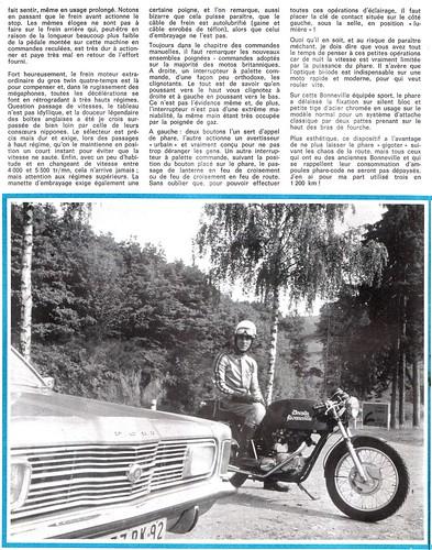 1971 Triumph 650 Dresda by motosanglaises