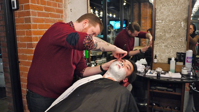 Bourbon & Barbers | Killjoy Barbers @ Yaletown, Vancouver