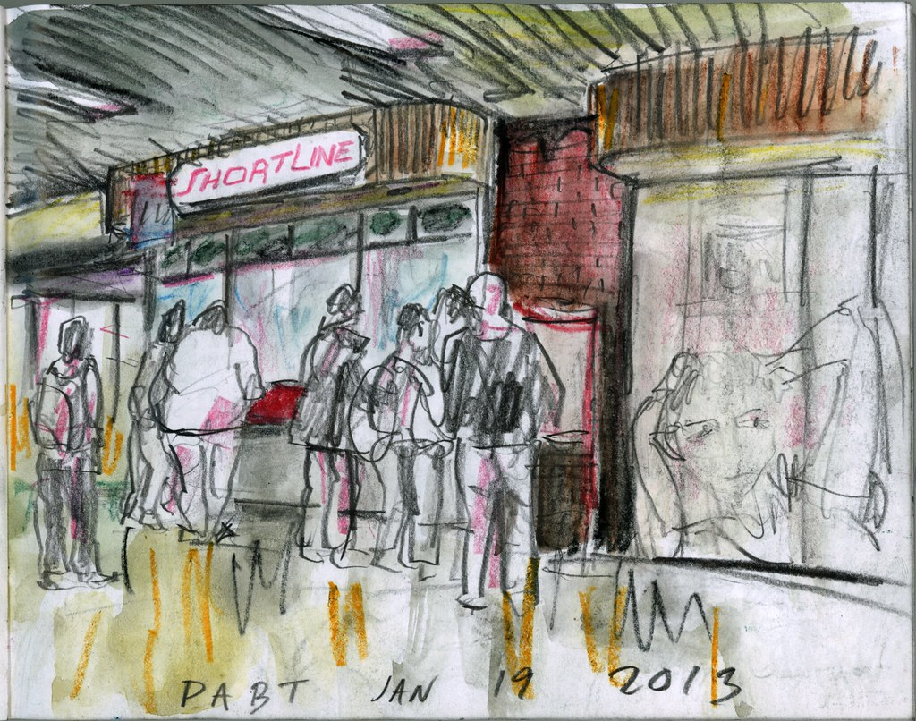 Short Line PABT. 38th World Wide Sketch Crawl