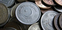 Pakistani one rupee coins