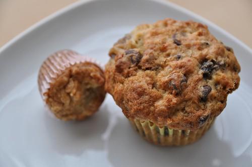 20/365 - banana oat muffins