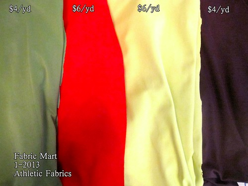 Fabric Mart 1-2013 Athletic Fabrics