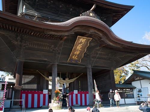 阿蘇神社の楼門