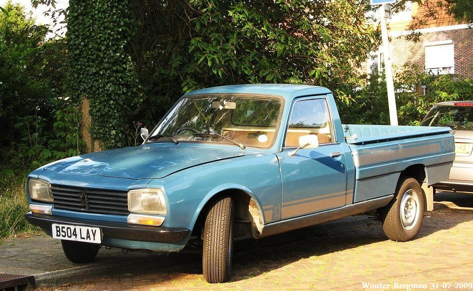 peugeot 504 pick up 1984 flickr photo sharing. Black Bedroom Furniture Sets. Home Design Ideas