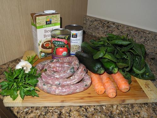 Italian Sausage Soup Ingredients
