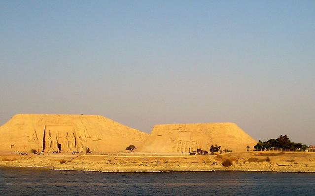 Abu Simbel at dawn