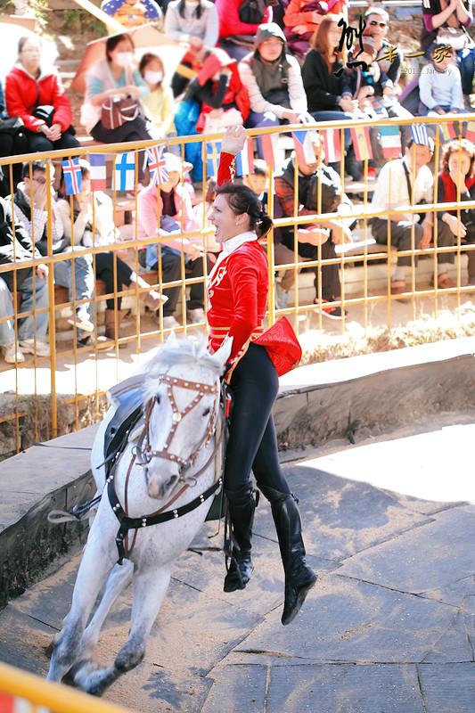 清境農場觀山牧區哈薩克馬術表演|南端小吃市集|陳財源香腸豆干包