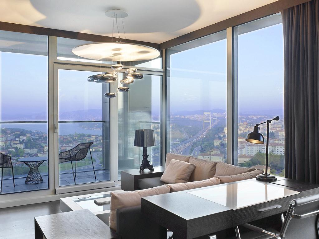 Le Meridien Istanbul Etiler Executive Suite Living Room