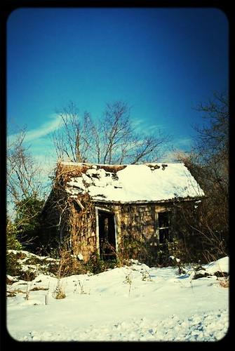 snow abandoned delaware derelict crumbling winterstorm abandonderelict