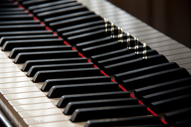Yamaha grand piano keys