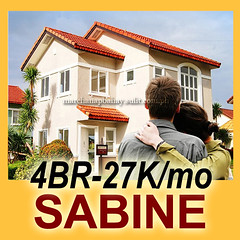 House and Lot for Sale in Imus Cavite near MOA at Lancaster Estates. Alexandra House Model - Sabine at Bellefort