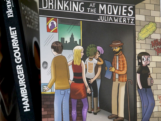 Drinking at the movies - Julia Wertz
