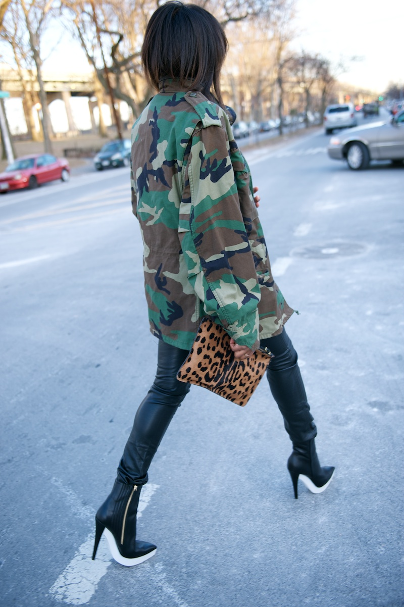Stella McCartney rubber platform boots