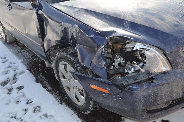 Car Accident Steering Column Broke Stuck In Park