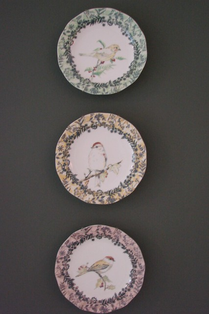 Bird Plates from Anthropologie