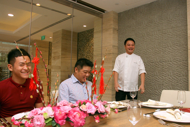 Sam Leong at his restaurant Forest