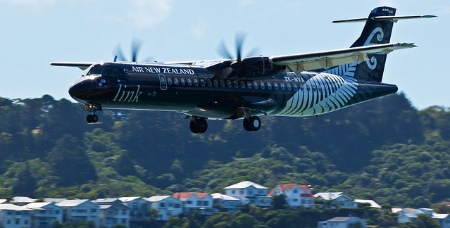 Mount Cook Airways Link Air ATR 72-600 ZK-MVA